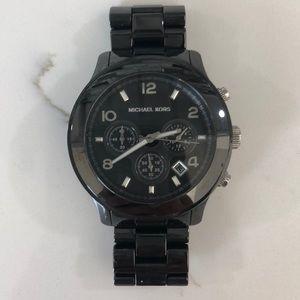 Michael Kors Men's Black Ceramic Watch